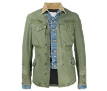 denim-trim utility jacket