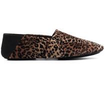 'Jacks' Loafer mit Leopardenmuster