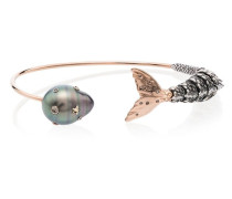 18kt 'Mermaid' Goldarmspange