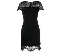 lace insert dress