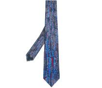 Gemusterte Krawatte