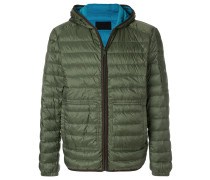 padded feather down jacket