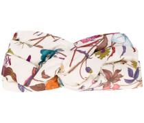 Stirnband aus Seide mit Print