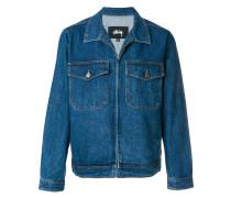 boxy denim jacket