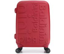 Reisekoffer mit Logo-Prägung