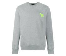 Sweatshirt mit Zebramotiv