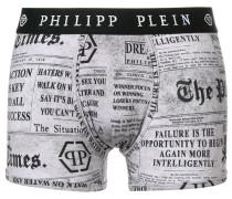 newspaper print boxer shorts