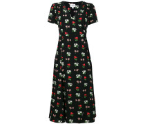 floral print wrap dress