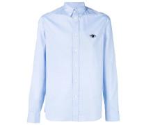 Button-down-Hemd mit Auge