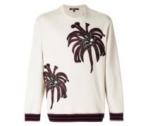 Palms embroidered sweatshirt