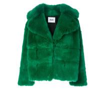 Mantel mit breitem Revers