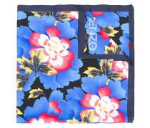 Seidenschal mit floralem Print
