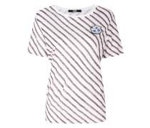 Gestreiftes 'Captain Karl' T-Shirt