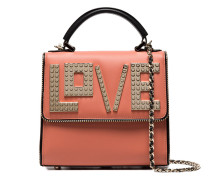 Tan Love Leather Shoulder Bag