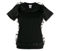 organza frill-trim T-shirt