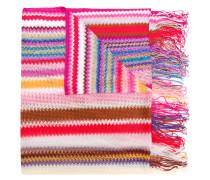 mini zig zag stripe scarf