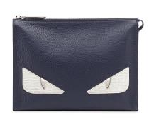 "Clutch mit ""Bag Bugs""-Design"