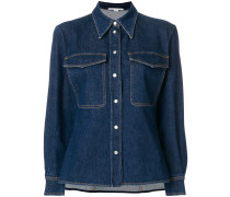 'Reina' Jeans-Hemd