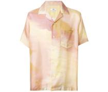 gradient short-sleeve shirt