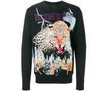 Pullover mit Leoparden-Motiv