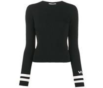Gerippter Pullover mit VLOGO