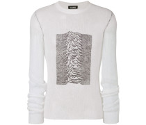Pullover mit Muster-Print