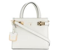 small top handle tote bag