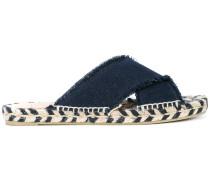 'Palmera' Sandalen mit überkreuzten Riemen