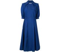 Kleid mit fallendem Revers