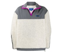 Fleece-Sweatshirt mit Reißverschluss
