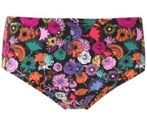 Badehose mit Blumen-Print