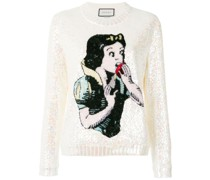 Snow White knit sweater