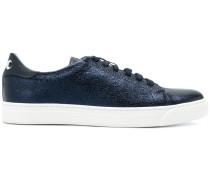 crinkled low top sneakers
