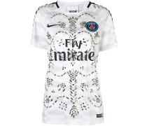embellished football T-shirt