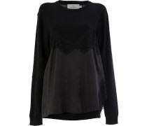 Caia lace-trimmed jumper