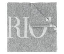 print logo scarf