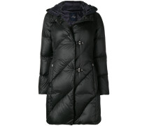 toggle quilted coat