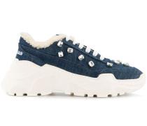 'Zenith' Sneakers mit Kristallen