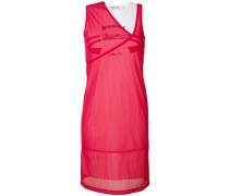 Kleid in Netzoptik