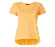 T-Shirt mit Faltendetail