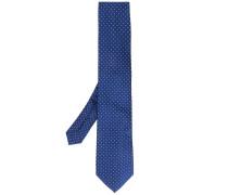 Gepunktete Jacquard-Krawatte