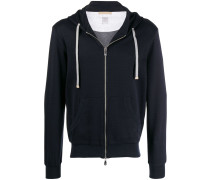 classic hoodie with front zip