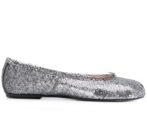 Tabi sequin ballerina shoes