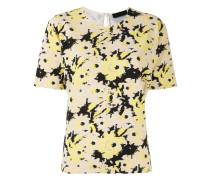 T-Shirt mit Sonnenblumen-Print
