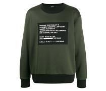'Warning' Sweatshirt