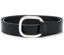 squared buckle belt