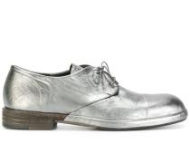 Metallische Schnürschuhe