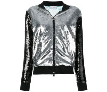 two-tone sequin jacket