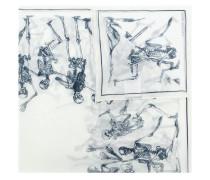 'Dancing Skeleton' Schal