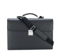 push-lock briefcase